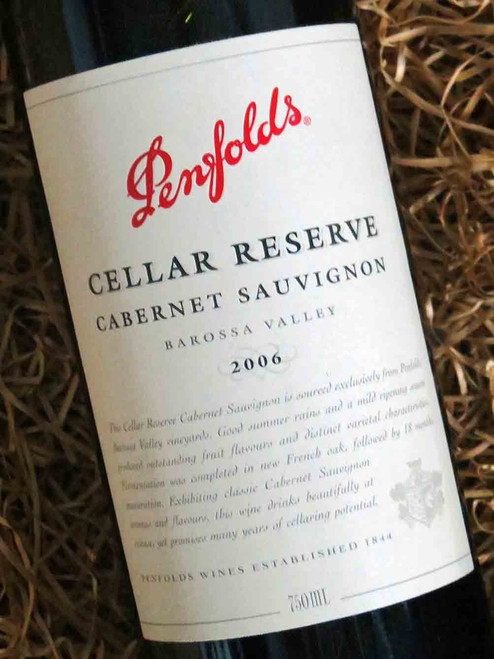 [SOLD-OUT] Penfolds Cellar Reserve Cabernet 2006