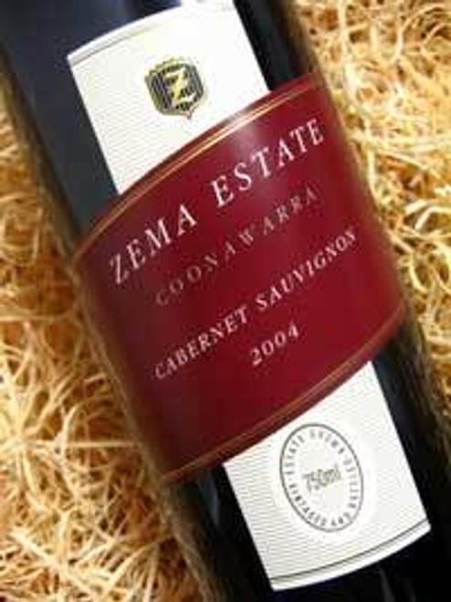 Zema Estate Coonawarra Cabernet Sauvignon 2004