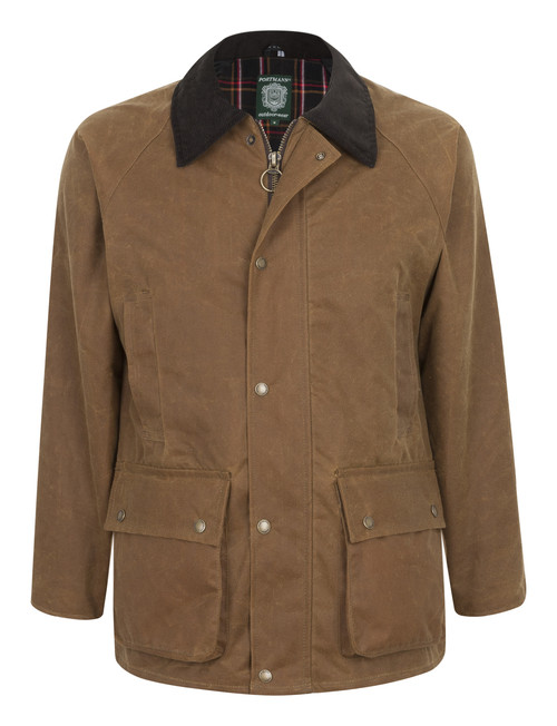 Belmont Mens Wax Jacket