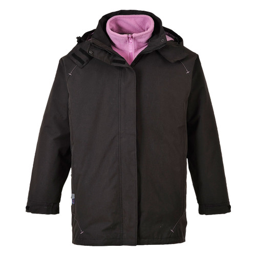 Elgin 3 in 1 Jacket (Black)