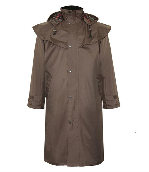 Highgrove Riding Coat (Stockman Styled None Wax Jacket)