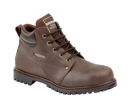 Crewe Genuine Leather Safety Hiker Boot with Kevlar Midsole