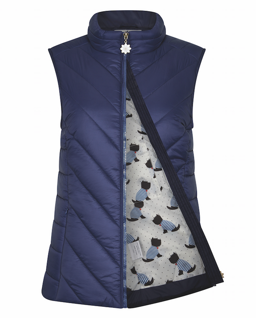 Lundy Quilted Full Zip Gilet
