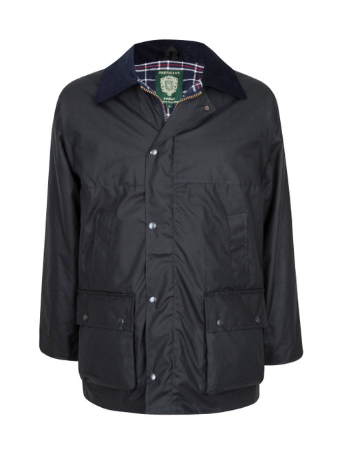 Men's traditional Lined Unpadded Wax Jacket (Made in the UK)