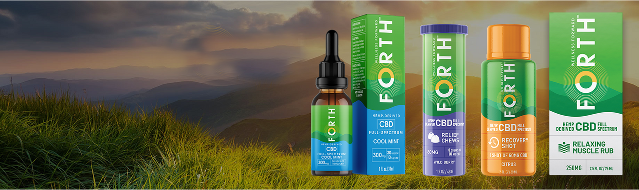 Forth CBD puts you in control of your wellness journey.