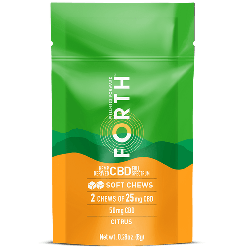 CBD Soft Chews - 14 Count