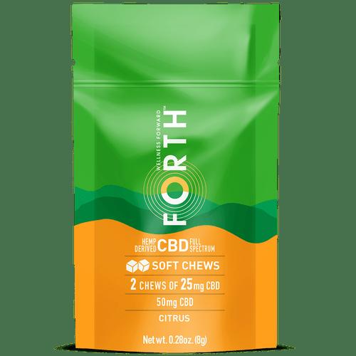 CBD Soft Chews - 14 Count