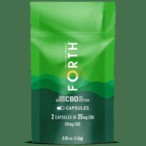CBD Capsules - 14 Count
