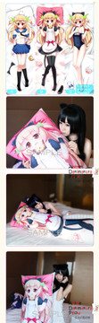 New Yuuko Amamiya - A Fairy Tale of the Two Anime Dakimakura Japanese Pillow Cover FT8