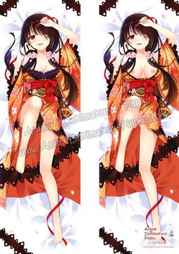 ADP Kurumi Tokisaki - Date A Live Anime Dakimakura Japanese Pillow Cover ZMZ-00011