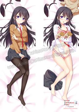 ADP Mai Sakurajima - Rascal Does Not Dream of Bunny Girl Senpai Anime Dakimakura Japanese Pillow Cover ZMZ-00100