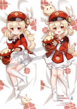 ADP Klee - Genshin Impact Anime Dakimakura Japanese Pillow Cover ADP201118