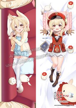 ADP Klee- Genshin Impact Anime Dakimakura Japanese Pillow Cover ADP21217