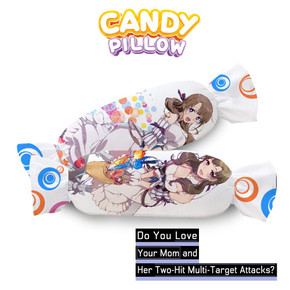 ADP Mamako -  Do You Love Your Mom and Her Two-Hit Multi-Target Attack Anime Waifu Candy Pillow TGBZ039