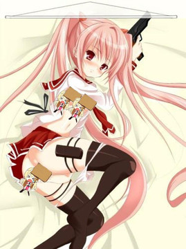 ADP Aria Kanzaki - Aria the Scarlet Ammo Japanese Anime Wall Scroll Poster and Banner 1