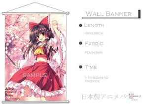 ADP Aria Kanzaki - Aria the Scarlet Ammo Japanese Anime Wall Scroll Poster and Banner 4
