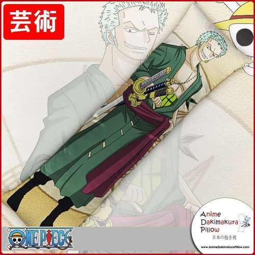 New Roronoa Zoro - One Piece Anime Dakimakura Japanese Hugging Body Pillow Cover GZFONG180