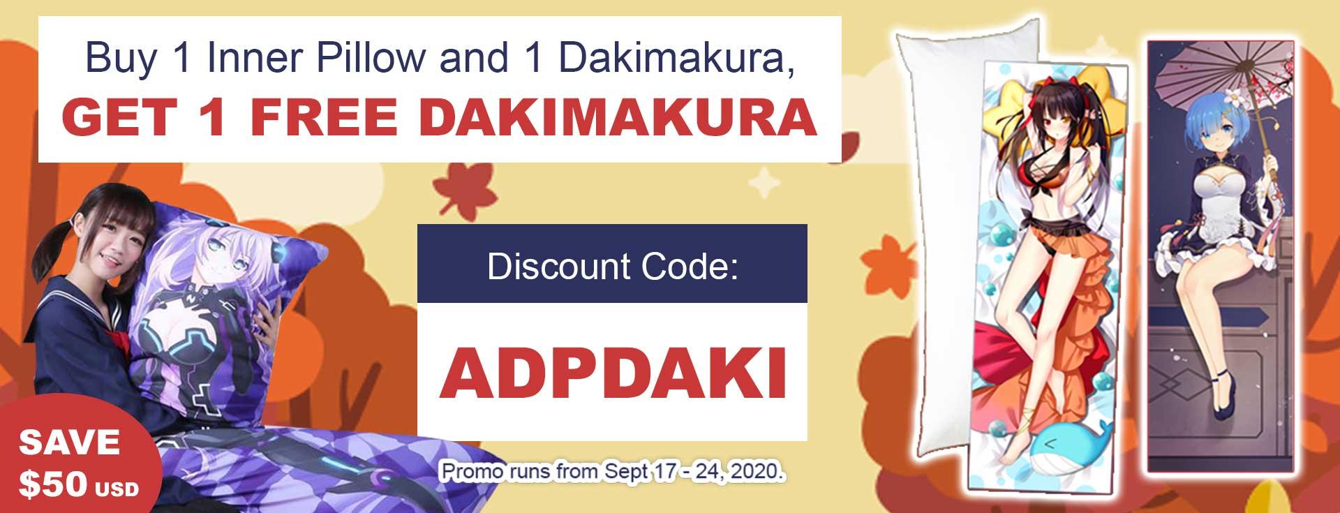 Dakimakura Promotion