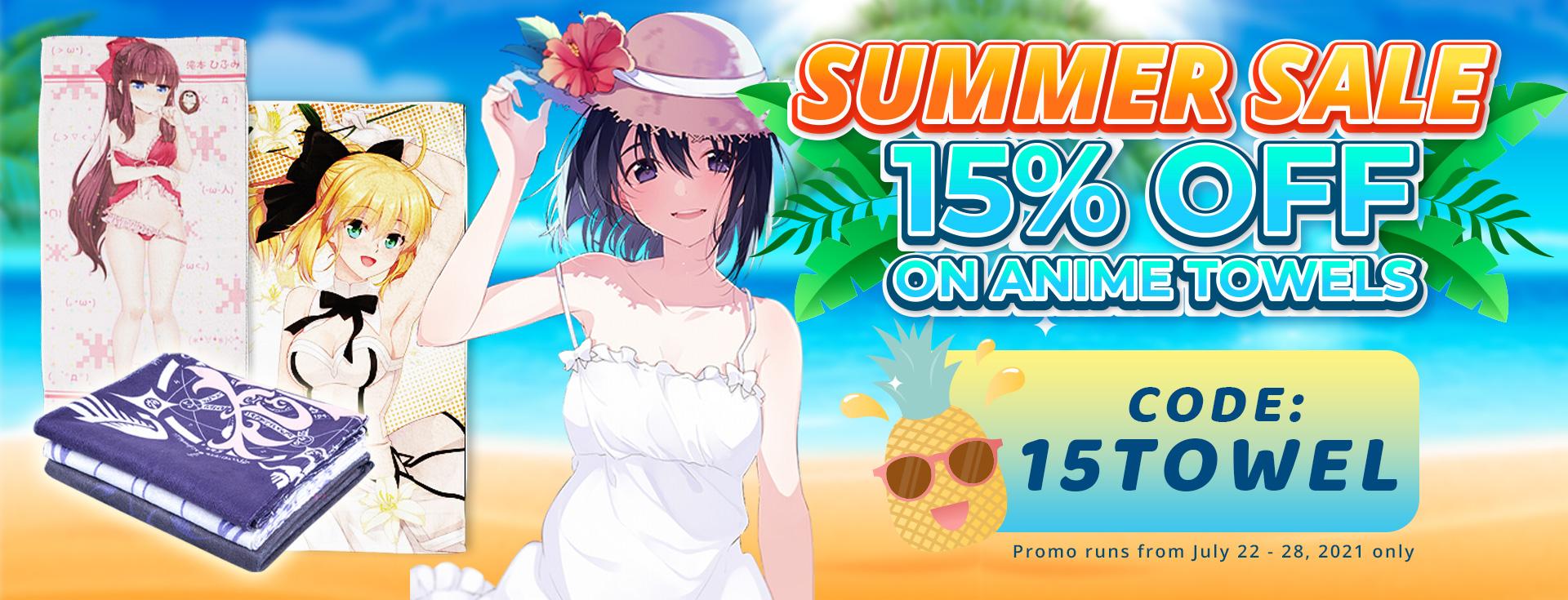 SUMMER MEGA SALE 20% OFF!