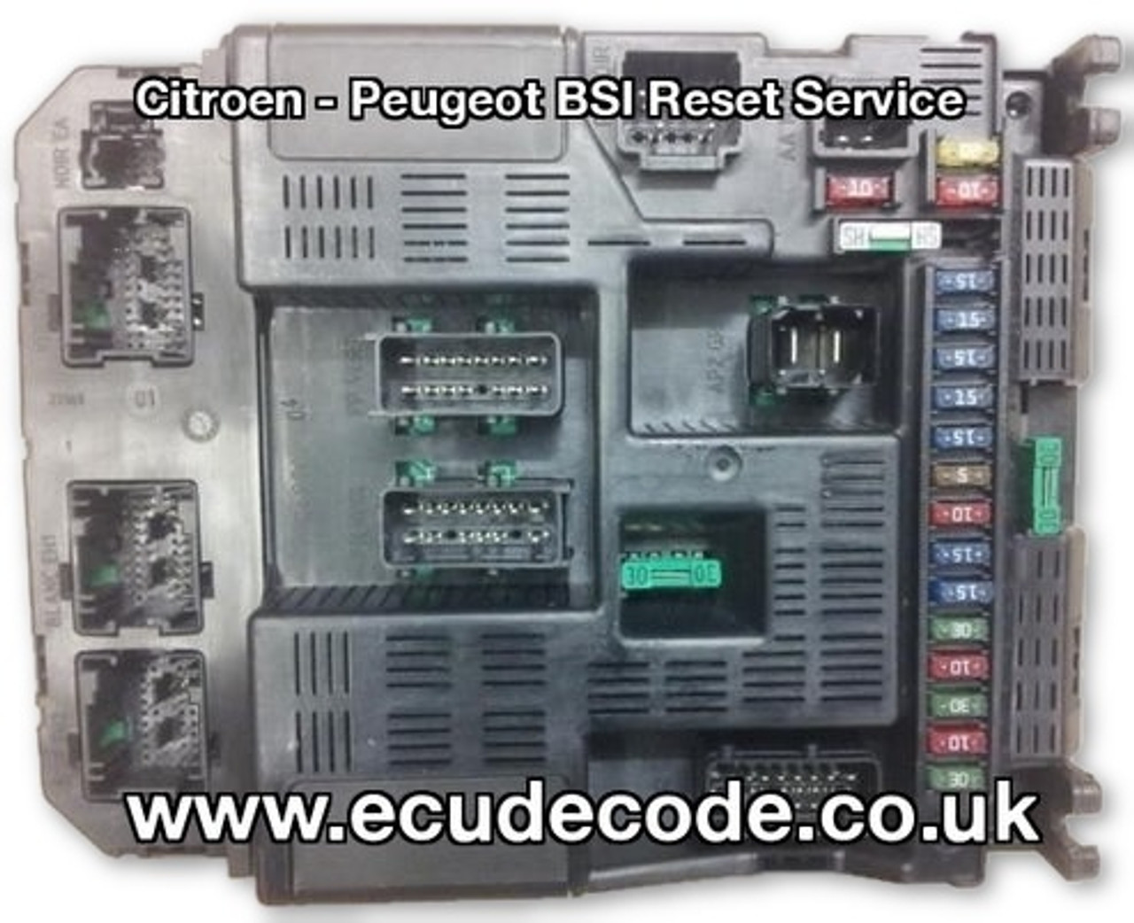 Valeo BSI 9636760580 9644098380 Boot 7 2 Clone - Reset For Matching
