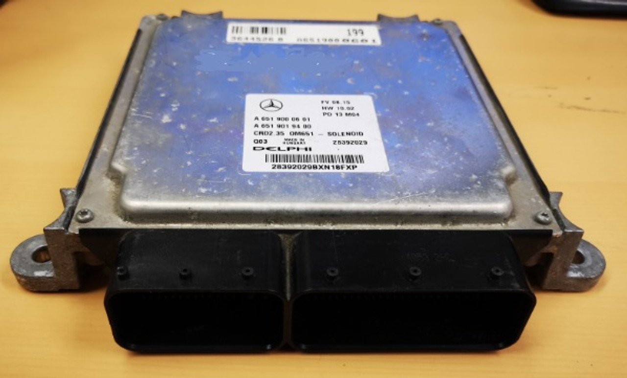 A6529000602 A6519019400 CRD2 35 Mercedes Diesel ECU Plug & Play