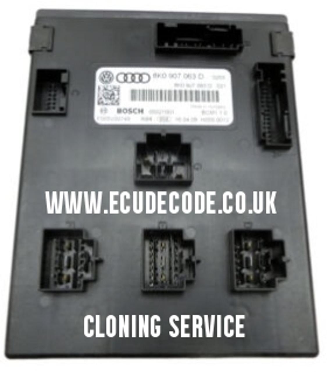 8K0907063D | F005V0074 | Audi Q5 | BCM | Body Control Module Cloning Service