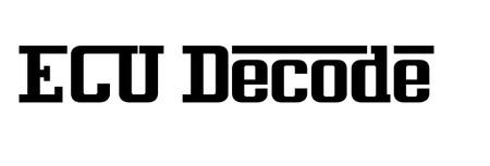E.C.U Decode