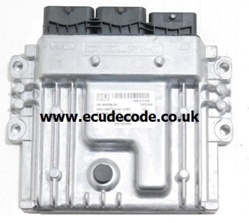 Citroen - Peugeot  HW 9666912580, 9801556080, 28456879, DCM3.5, Delphi Engine ECU Cloning - Immobiliser Bypass, Plug & Play Services