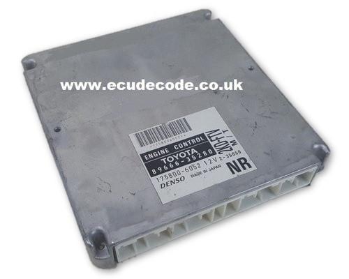 89666-35280 / 175800-6052 / 2KD-FTV Cloning Service