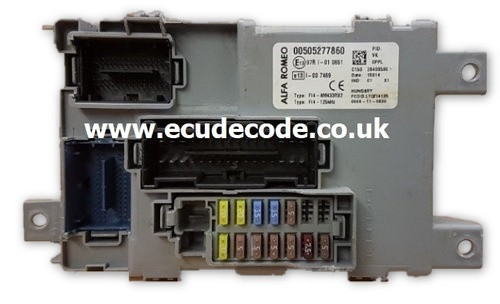 00505277860 Alfa Mito Delphi BCU - Clone - PIN Decoding Services From ECU Decode Limited / Westbury / Wiltshire