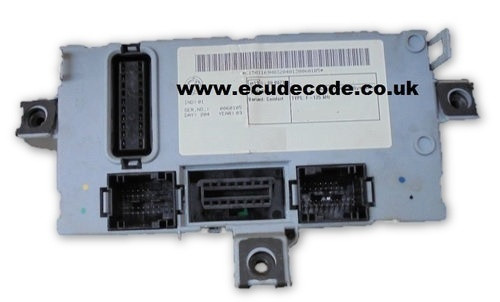 46812232 Delphi Fiat Punto BCU - Clone - Key Transponder Production - PIN Decoding