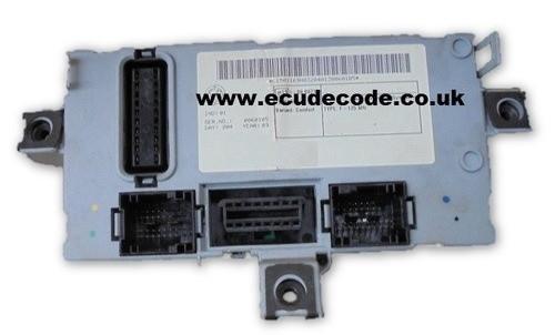 46812232 Delphi Fiat Punto BCU - Clone - Key Transponder Production - PIN Decoding