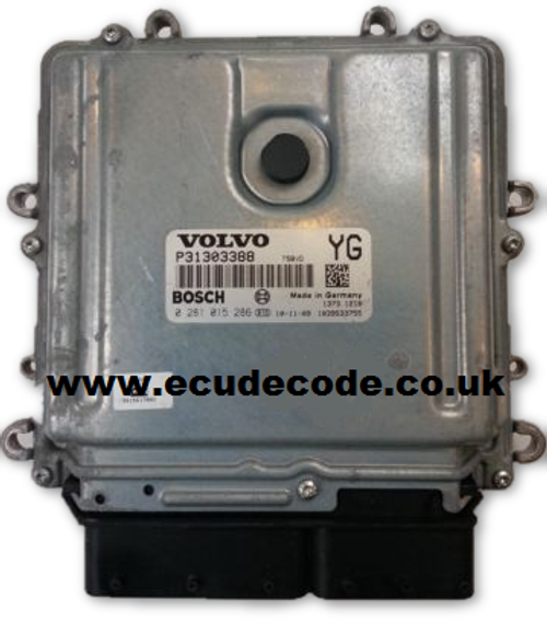 For Sale 0281015286, P31303388, 0 281 015 286, YG Bosch Volvo ECU