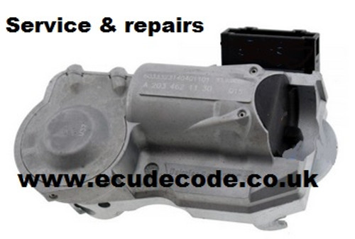 Mercedes W203 Steering Lock Recovery, Matching , Repair & Emulator Services ECU Decode Limited