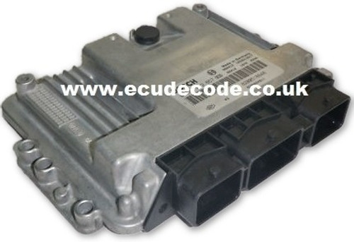 0281012569 8200518648 EDC16C3-10.25 Suzuki Grand Vitara ECU Services Including P0606 Recover