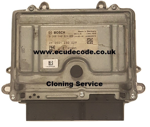 0 260 140 029 / 0260140029 / ZF / 0501230029 Iveco Daily 50C17 Gearbox Module Cloning Services