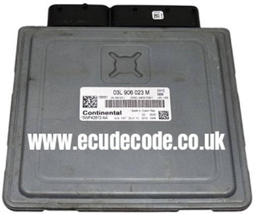 03L 906 023 M / 03L906023M / CAYC / 5WP42813AA / Simos PCR2.1 H23 Matching - Recovery Service