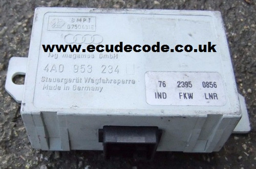 4A0 953 234 / 4A0953234 Audi A6 Cloning - Key Matching - Decoding & Bypass Services from ECU Decode - Westbury - Wiltshire.