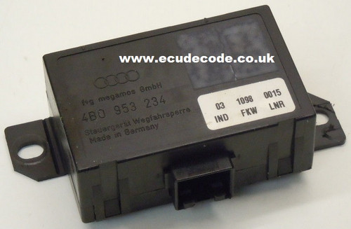 4A0 953 234 / 4A0953234 Audi 86 Cloning - Key Matching - Decoding & Bypass Services ECU Decode Westbury Wiltshire England