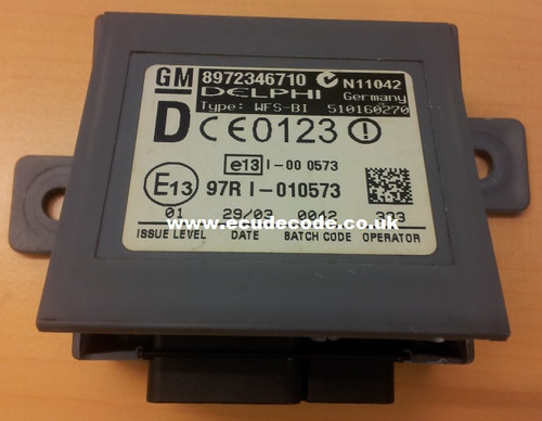 ECU Decode Limited UK - 8972346710, 510160270, Rodeo Immobiliser Box Cloning Matching Transponder Production Service.