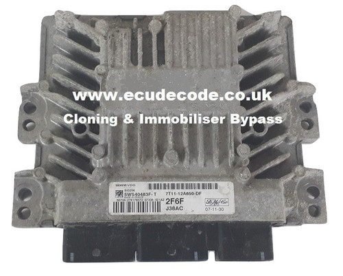 7T11-12A650-DF / 2F6F 5WS40483F-T / SID206 Cloning & Immobiliser Bypass Service From ECU Decode Limited.
