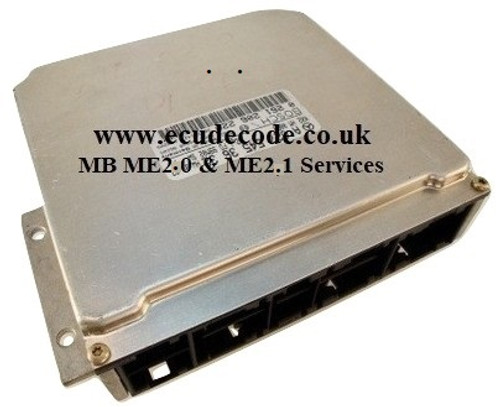 Mercedes ME2.0 / ME2.1 - Reset To New - Cloning Plug & Play - Immobiliser Bypass Services From ECU Decode Limited England