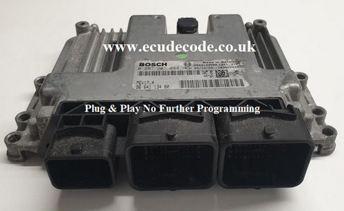 0 261 201 643 | 0261201643 | 9664113480 | 96 641 134 80 MEV17.4 Plug & Play From ECU Decode Limited England