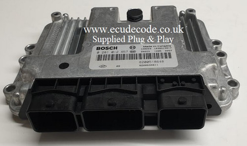 0281012657 | 8200518648 | 8200634611 | 3910-67J0-000 | Suzuki Grand Vitara ECU Supplied Plug & Play