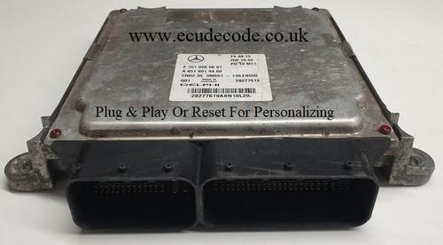 A6519000601 | A6519019400 | CRD2.35 0M651 | Mercedes ECU Plug & Play Or Reset