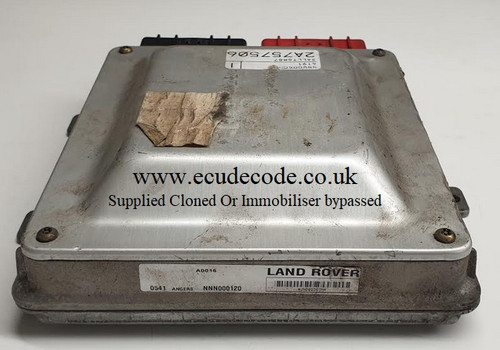 NNN000120 | Land Rover Discovery TD5 Plug & Play Engine Lucas ECU