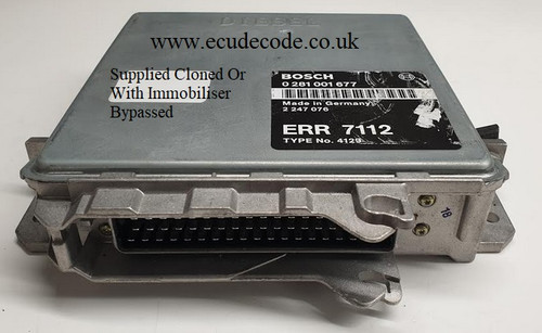 0281001677 | ERR7112 | Type 4129 Land Rover P38 2.5 Plug & Play ECU From ECU Decode