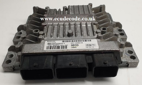 8V21 | 5WS40585D-T | 3ECD | SID206 Ford - Mazda 2 1.4 TDCi Plug & Play ECU From ECU Decode UK