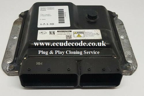 22611AP841 | 275800-9843 | Subaru Outback Denso Cloning Service - Plug & Play From ECU Decode Limited