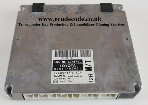 89661-53031 | 175300-3770 Lexus IS 200 2.0 Petrol Plug & Play ECU Services